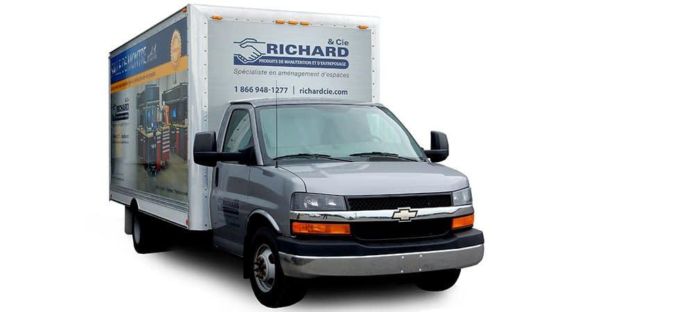 Salle de montre mobile camion cube